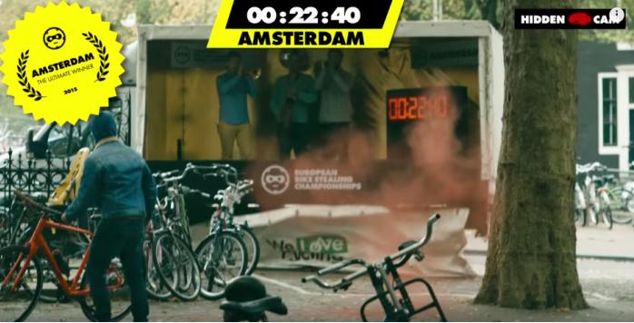自転車対抗レース③