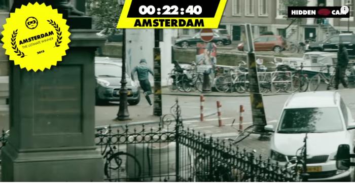 自転車対抗レース④