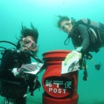 ウミガメにも出会える?世界一低い場所に存在する海底ポスト!珍百系と幻想的な海